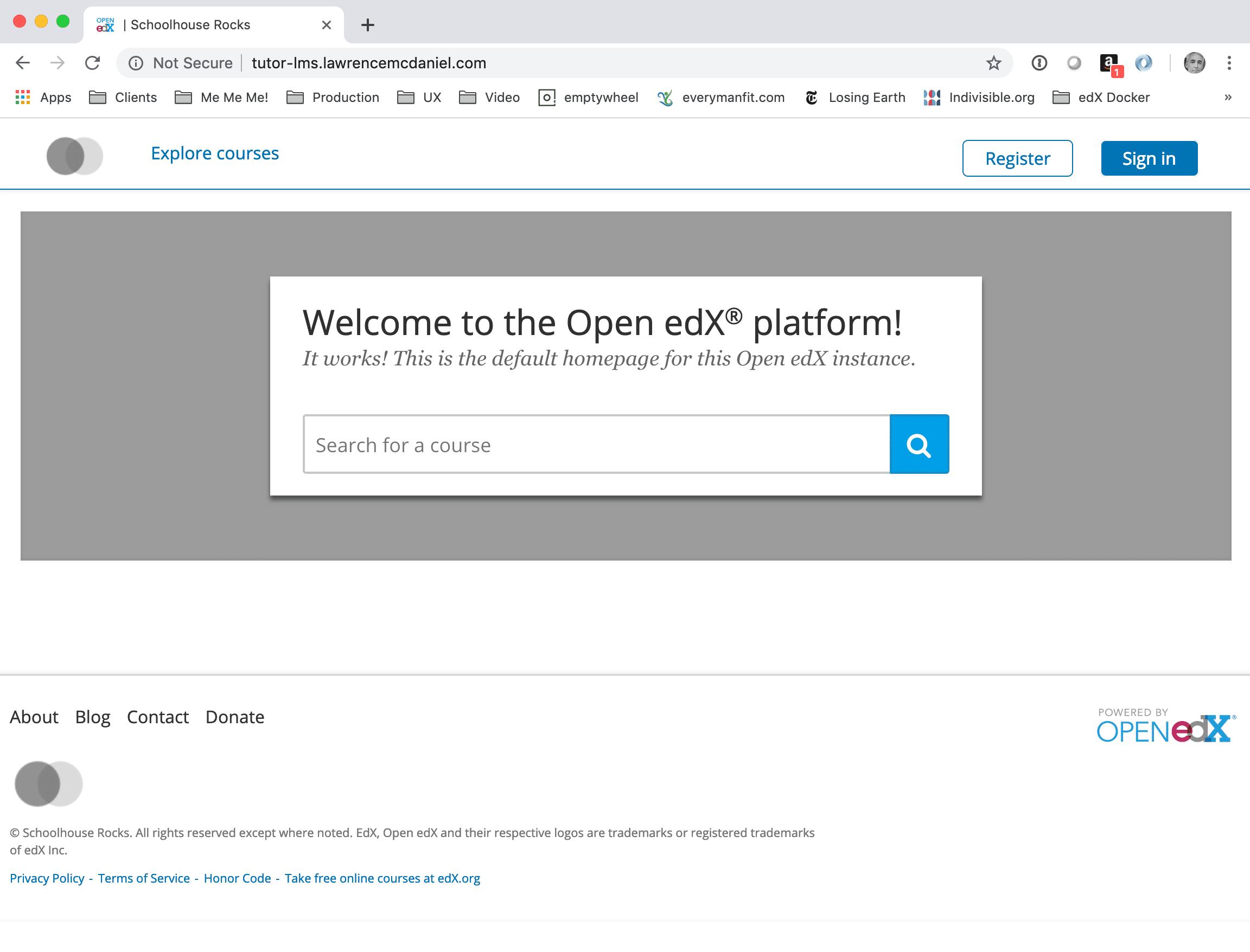 Tutor Open edX 1-Click Installation Guide - Lawrence McDaniel